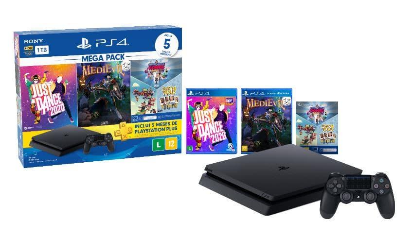 Bundle Mega Pack Family PlayStation 4