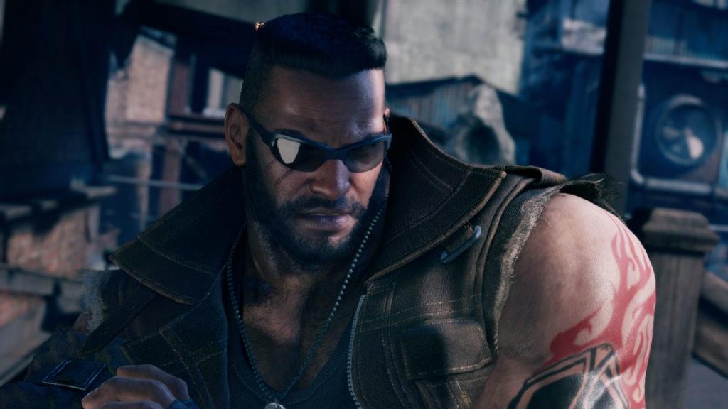 Barret - Final Fantasy VII Remake