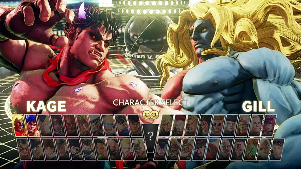 814zEAdOCIL. AC SL1500 street fighter v champion edition