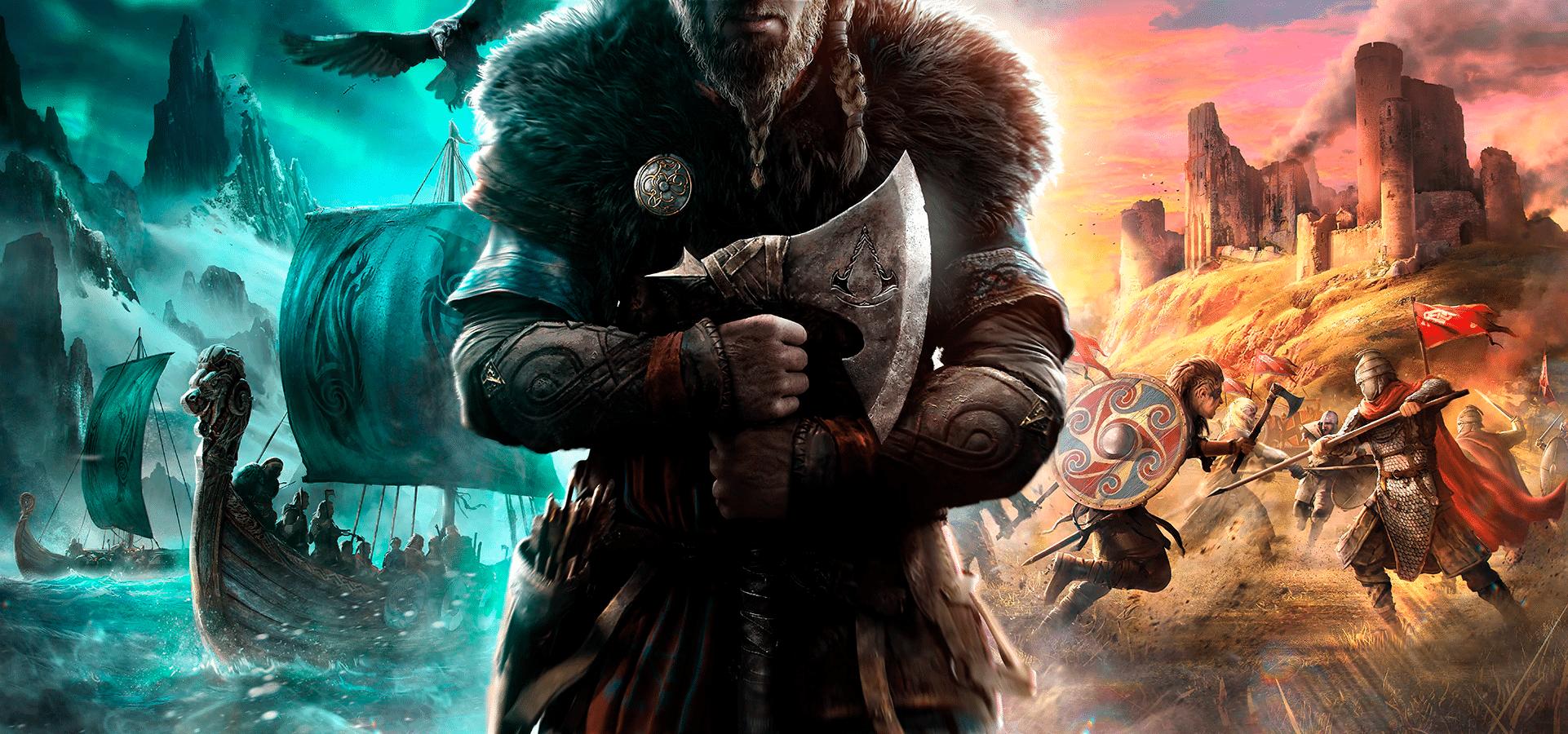 Jogos: Assassin's Creed Valhalla é revelado após live de 8 horas