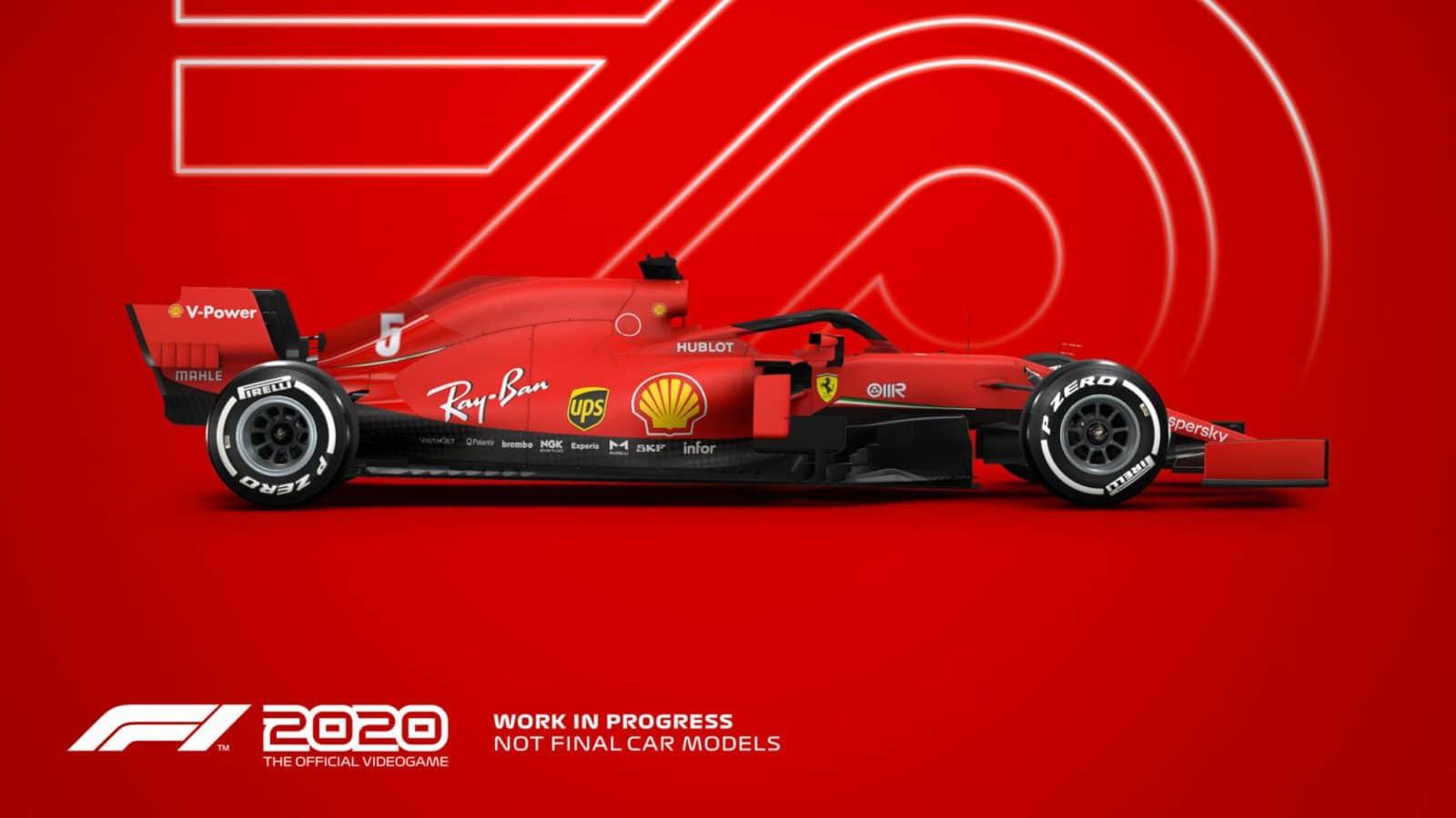 Jogos: F1 2020 anuncia data de lançamento e novidades