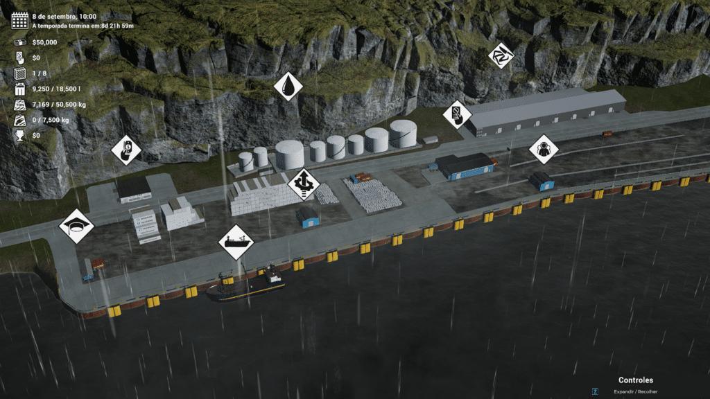 Pesca Mortal, o jogo