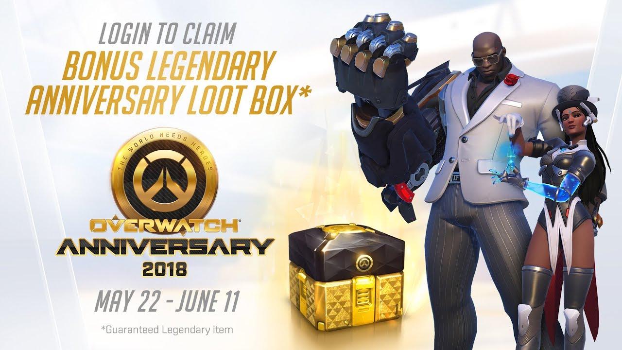 Jogos: Overwatch anuncia comemorações de seu quarto aniversário