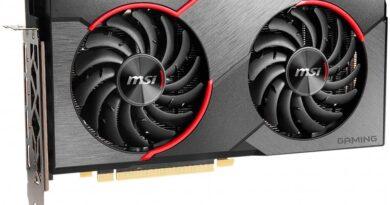 MSI Radeon RX 5500 XT Gaming X 8 GB 2 amd radeon 5500 xt