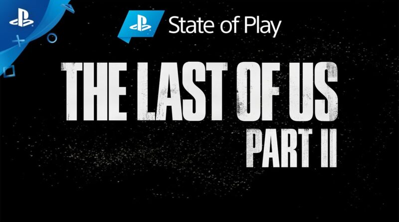 The Last of Us Part II - State of Play