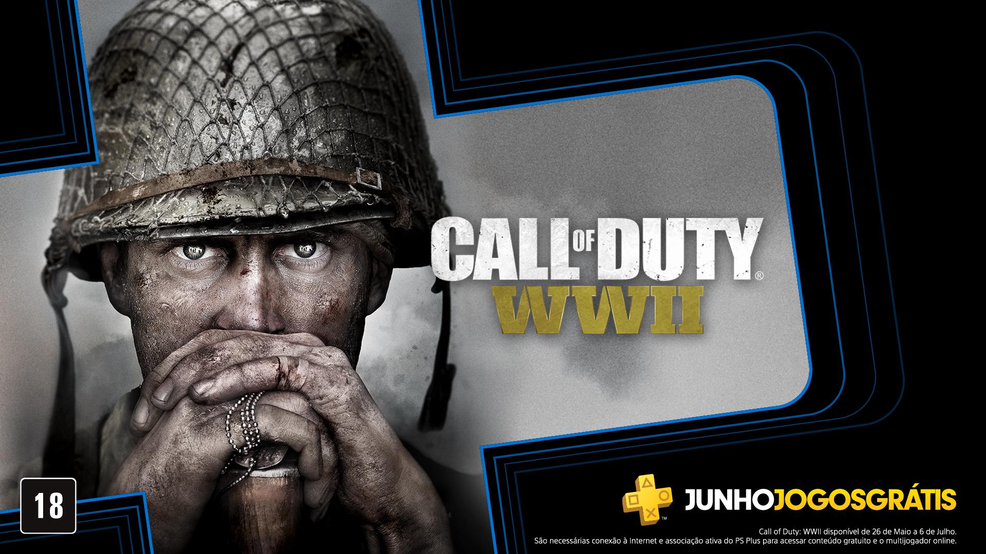 Jogos: PS Plus de junho terá Call of Duty: WWII