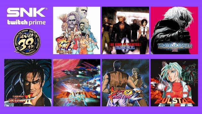 Jogos: Twitch Prime oferecerá 7 jogos da SNK gratuitamente