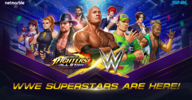 the king of fighters allstars