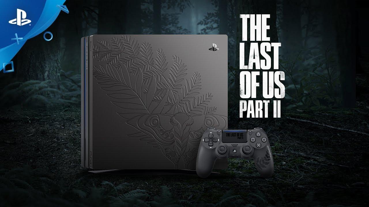 Jogos: Sony revela PS4 Pro inspirado em The Last of Us Part II