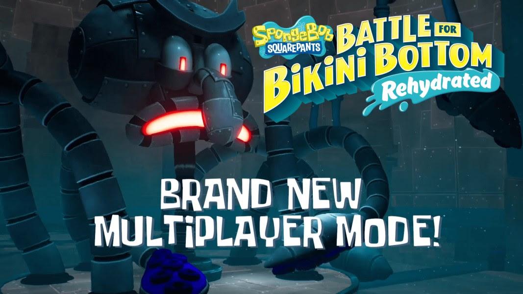 Jogos: Jogo do Bob Esponja traz novo vídeo focado no multiplayer