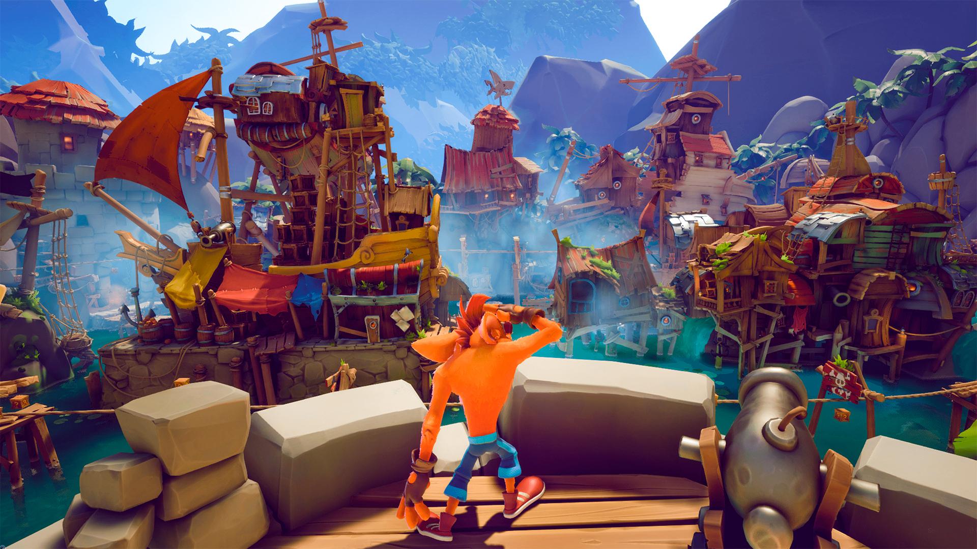 Jogos: Crash Bandicoot 4: It's About Time é anunciado oficialmente
