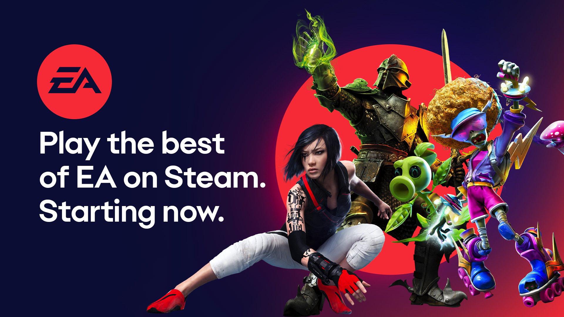 Jogos: EA lança primeira onda de jogos na Steam