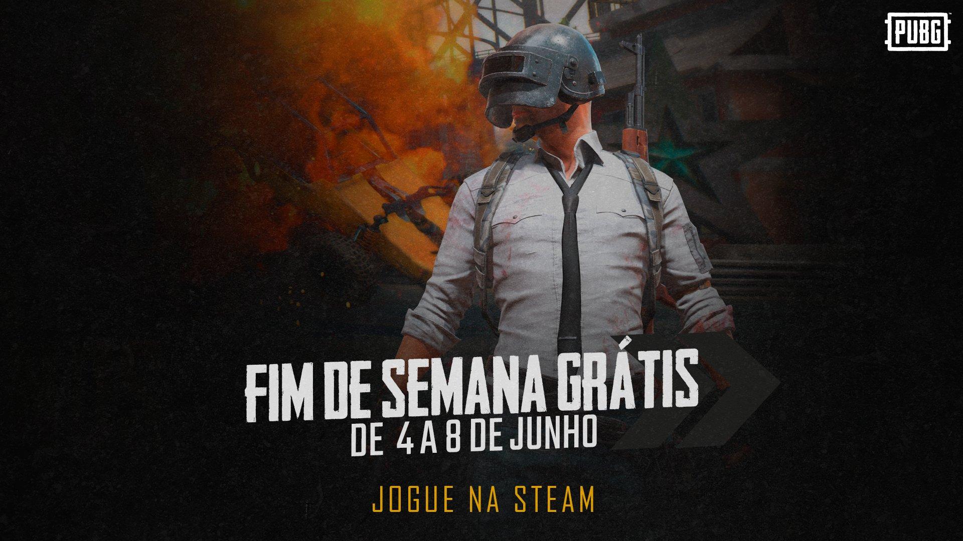 Jogos: PUBG estará gratuito na Steam neste final de semana