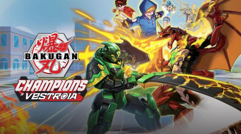 Bakugan: Champions of Vestroia será exclusivo do Switch e terá batalhas de monstros. (Imagem: Divulgação.)