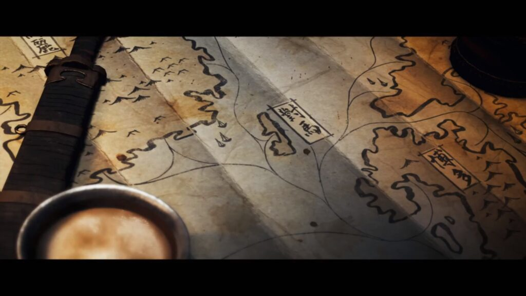 tsushima mapa