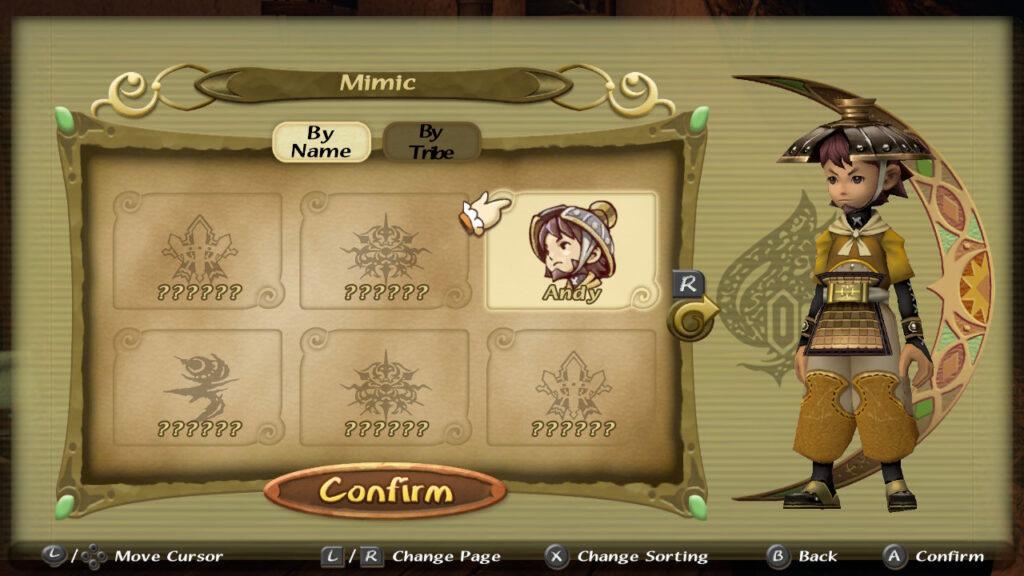 E ao encontrar todos os selos, você poderá usar o visual de outros personagens. (Imagem: Reprodução.)