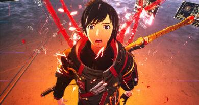 Com visual de anime, Scarlet Nexus é um jogo de ação e RPG e sua estética parece referenciar Breath of the Wild e Nier Automata. (Imagem: Divulgação)