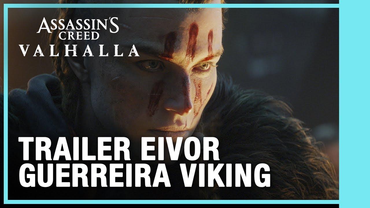 Jogos: Ubisoft revela trailer de Assassin's Creed: Valhalla com Eivor feminina