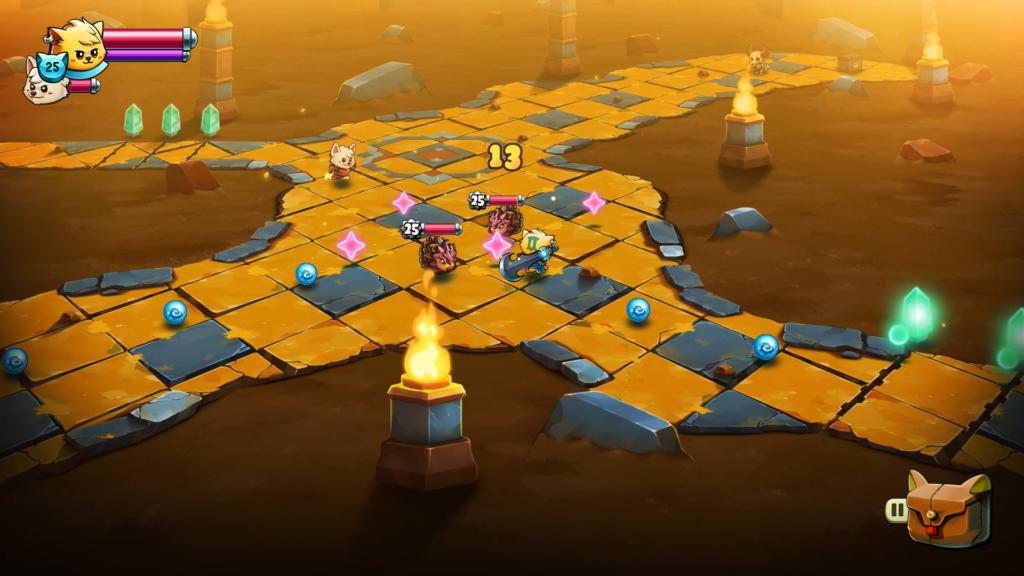 O jogo requer um pouco de repetição para acumular ouro e poder melhorar equipamentos. (Imagem: Divulgação.)