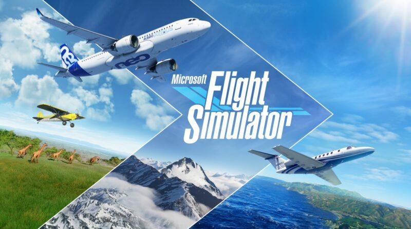 MicrosoftFlightSimulator KeyArt Hero Microsoft Flight Simulator