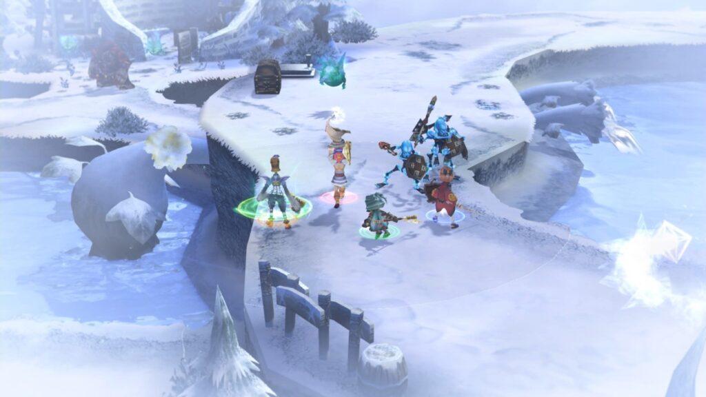 Belos gráficos e composições memoráveis - agora regravadas e com músicas inéditas - fazem parte de Final Fantasy Crystal Chronicles Remastered Edition. (Imagem: Divulgação.)