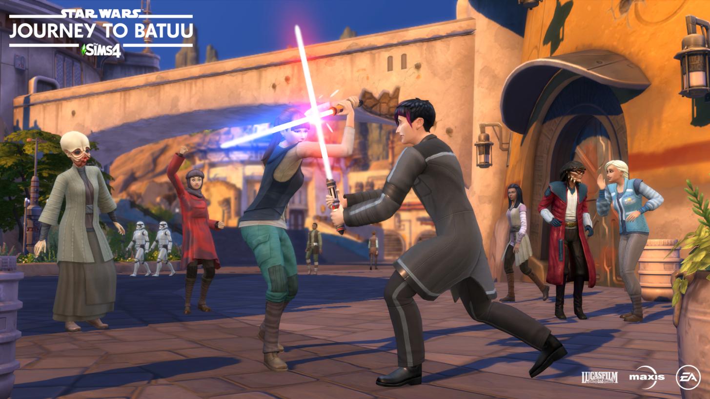 Jogos: The Sims 4 Star Wars: Jornada para Batuu é anunciado na Gamescom