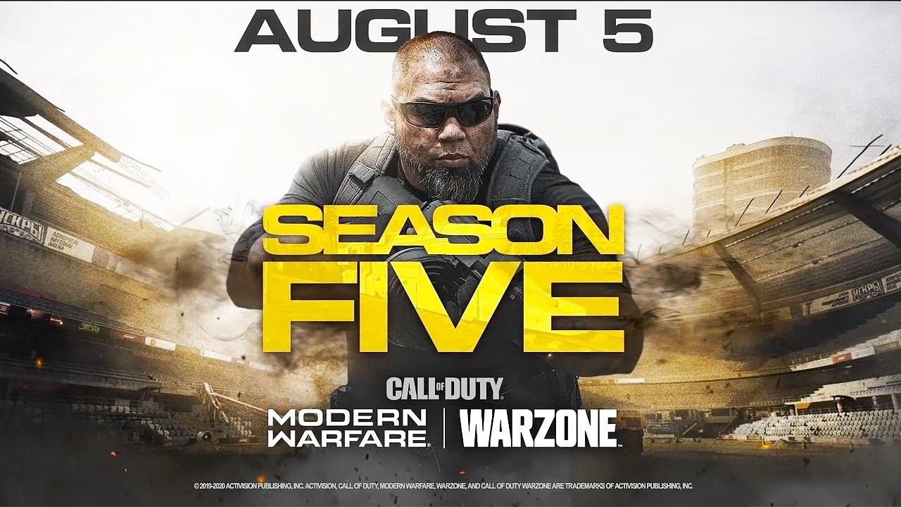 Jogos: Temporada 5 de Call of Duty: Modern Warfare e Warzone recebe trailer