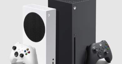 Os novos Xbox lado a lado: Xbox Series S (branco) e Xbox Series X (preto). (Imagem: Divulgação)