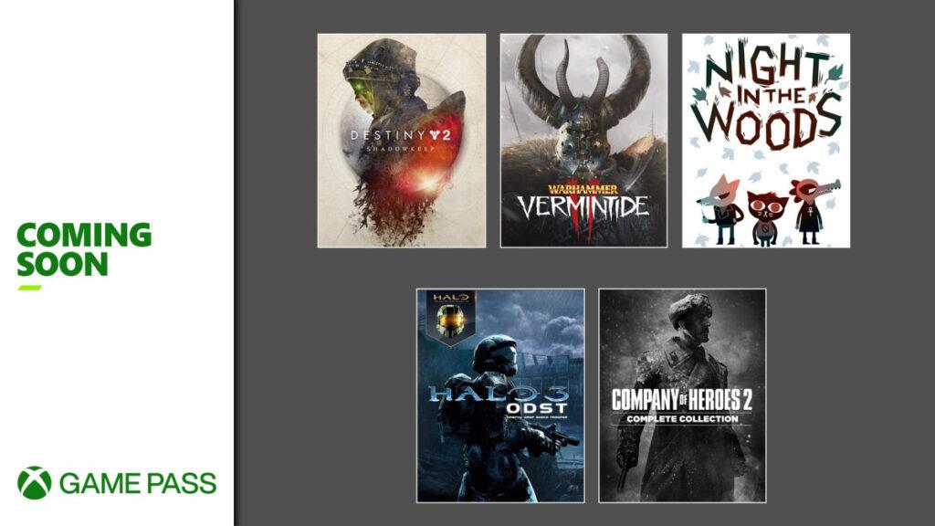 O Xbox Game Pass em setembro recebeu 18 jogos novos, além de expansões e recompensas. (Imagem: Divulgação)
