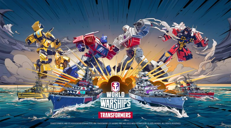 World of Warships x Transformers