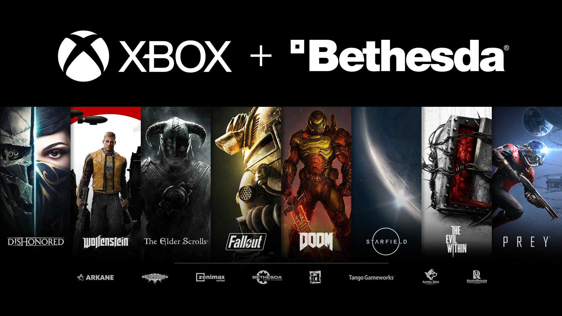 Jogos: Bethesda Softworks é adquirida pela Xbox por US$ 7,5 bilhões
