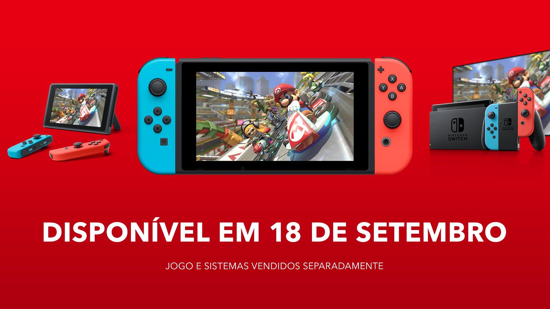 Jogos: Nintendo Switch é lançado oficialmente no Brasil por R$2.999,00