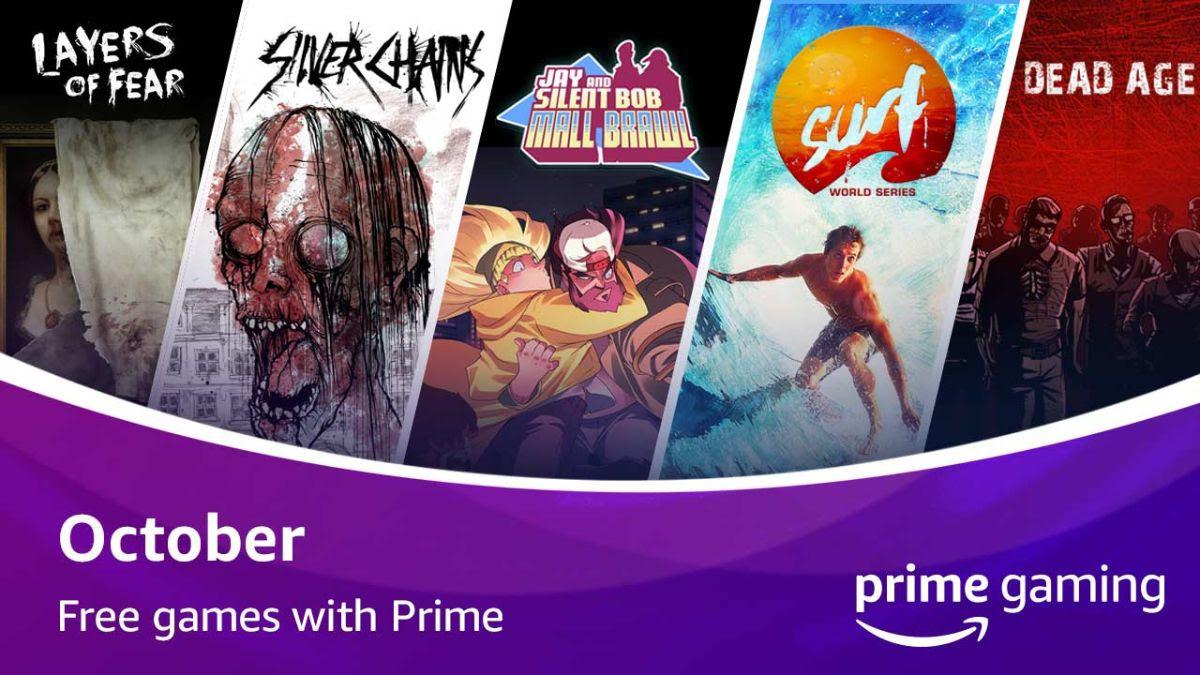 Jogos: Prime Gaming anuncia sua atualização de conteúdo de outubro