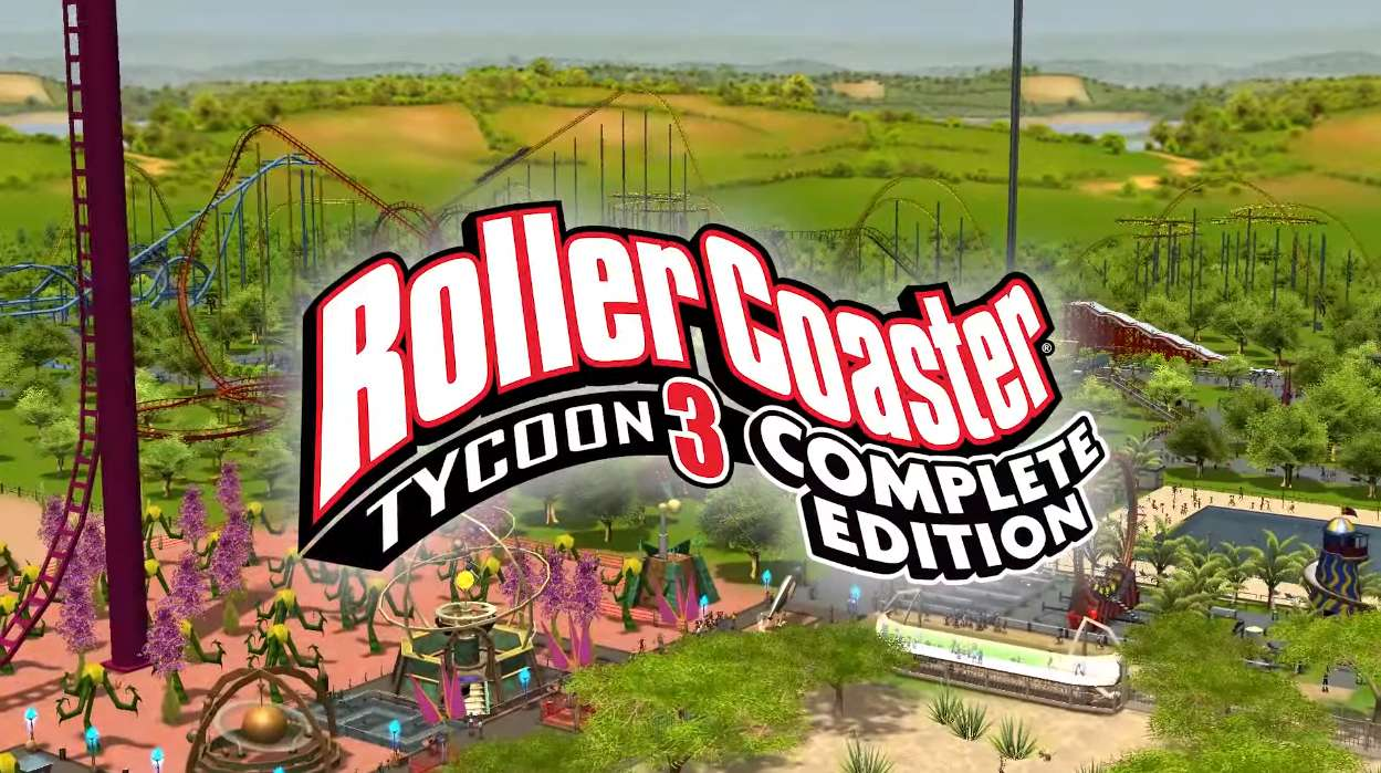 Jogos: RollerCoaster Tycoon 3 Complete Edition grátis na Epic Games Store