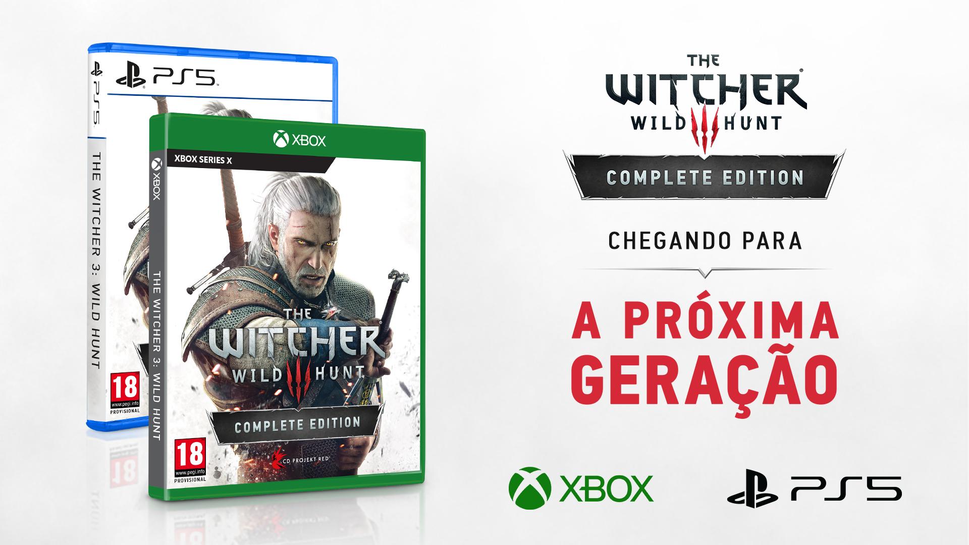 Jogos: The Witcher 3 será lançado para PS5 e Xbox Series no segundo semestre