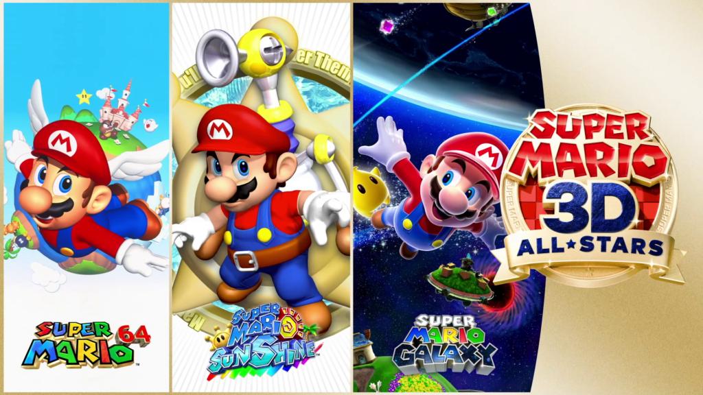 A aguardada coletânea Super Mario 3D All-Stars chega 18 de setembro. (Imagem: Divulgação)