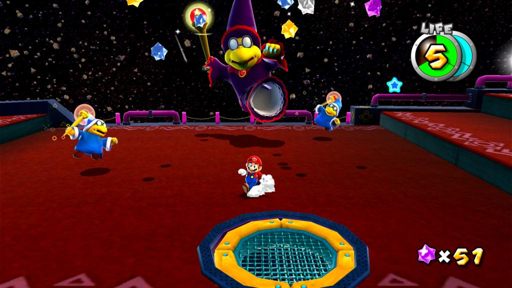 Galaxy é o tipo de jogo que todos podem pegar para jogar em Super Mario 3D All-Stars. (Imagem: Reprodução)