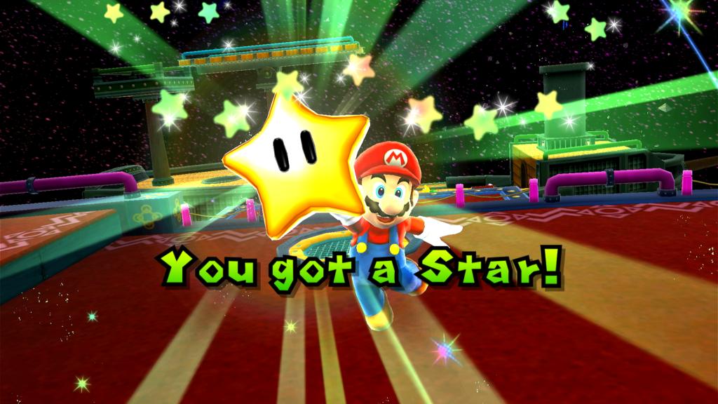 Super Mario Galaxy é o jogo mais bonito em Super Mario 3D All-Stars. (Imagem: Reprodução)