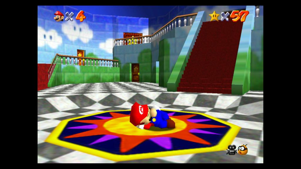Se não tivesse deixado o Switch parado por alguns minutos sem querer, talvez não fosse lembrado que Mario cai no sono quando ocioso. (Imagem: Reprodução)