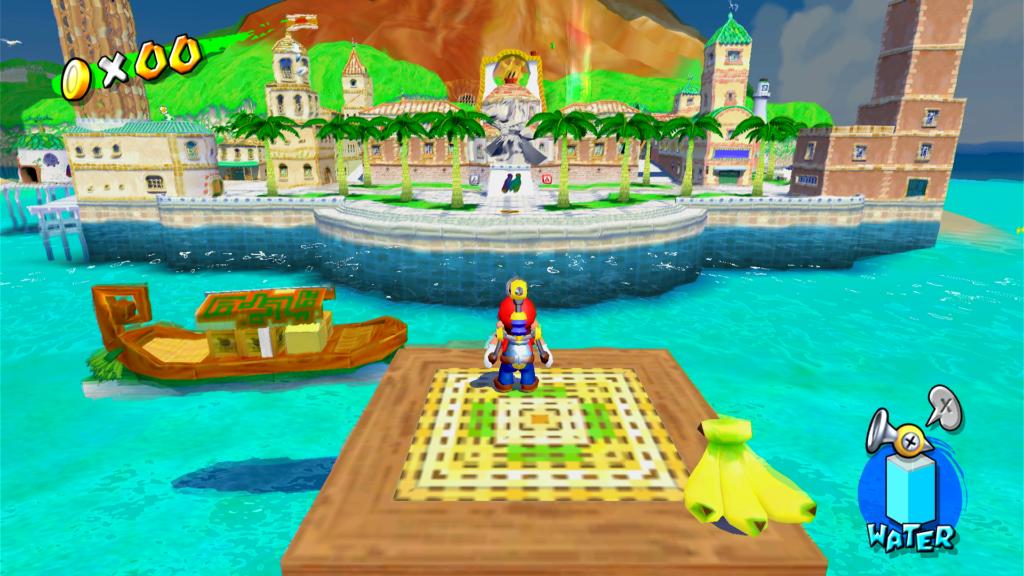 Que água é essa para um jogo de 2002? (Imagem: Reprodução)
