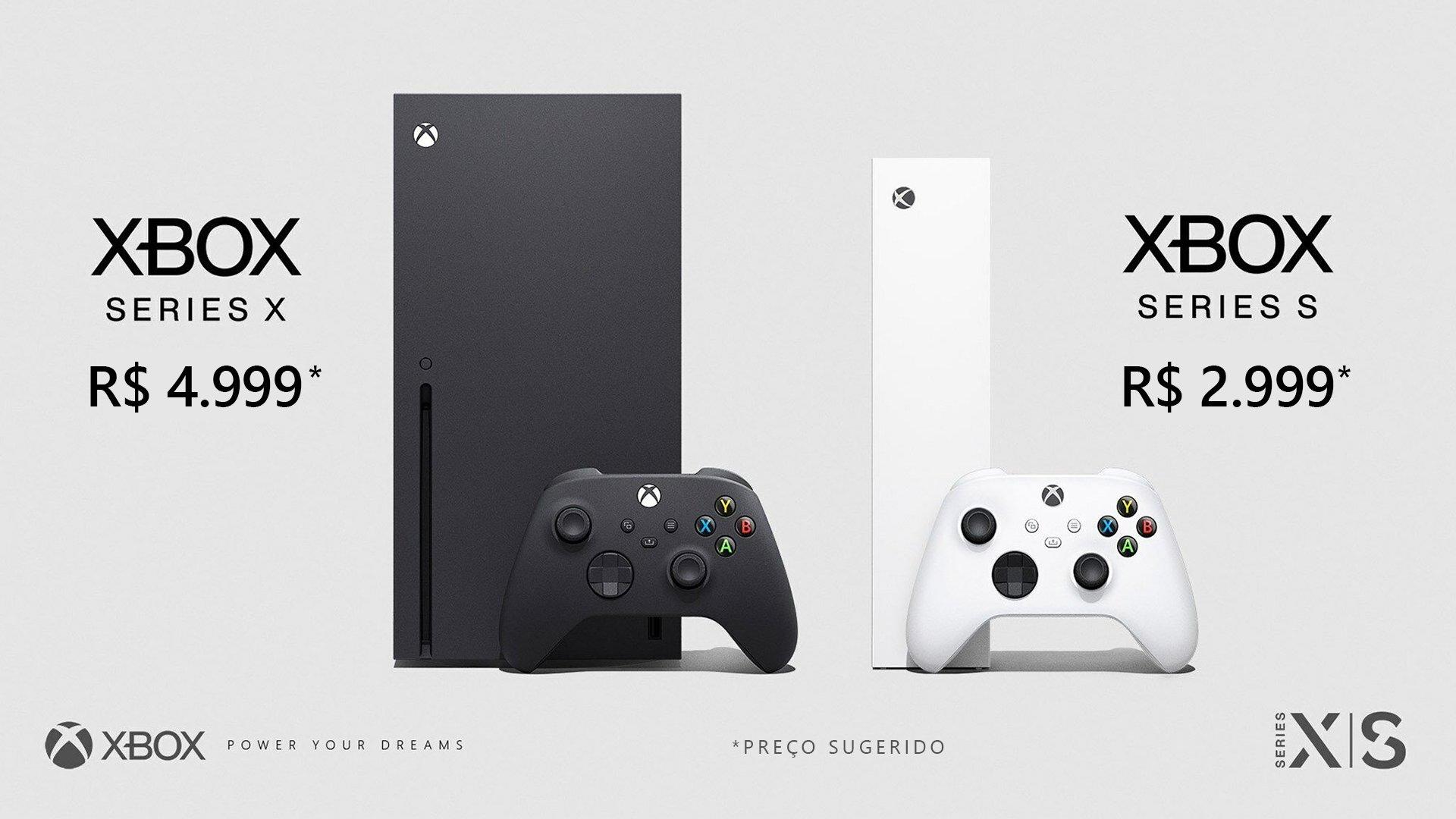 Jogos: Microsoft revela valor dos Xbox Series X e Series S no Brasil