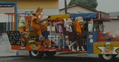 Crash Bandicoot + Carreta Furacão