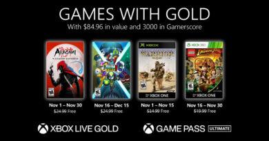 A partir de novembro, será possível jogar os Games with Gold nos novos consoles Xbox Series X S. (Imagem: Divulgação)