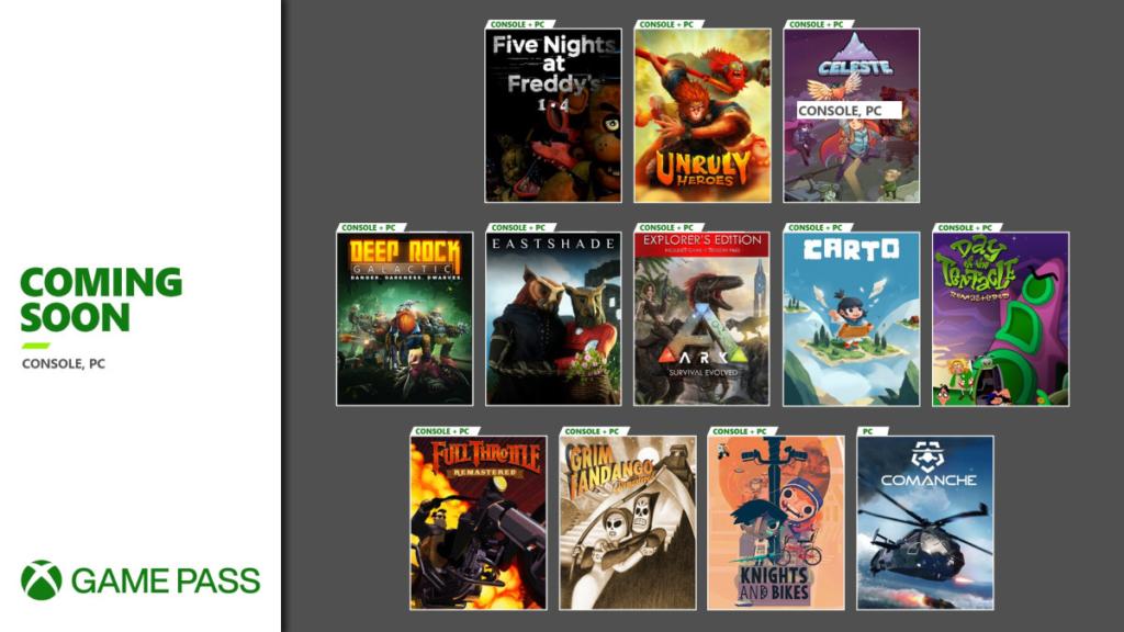 Xbox Game Pass recebe jogos para Halloween e para novembro. (Imagem: Divulgação)