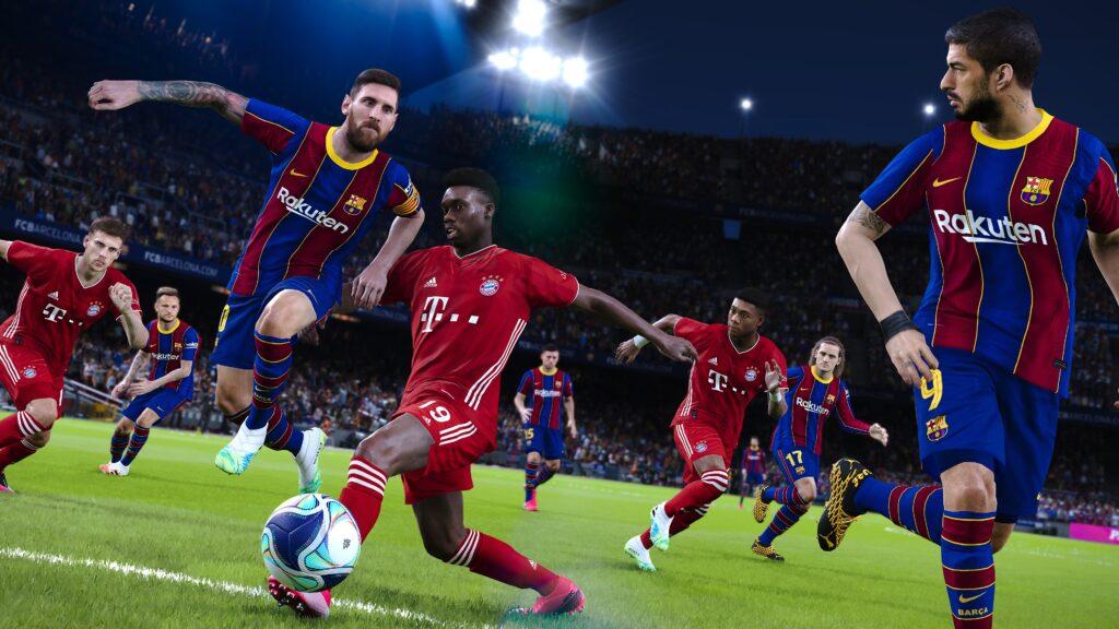 eFootball PES 2021 SEASON UPDATE 1 pes 2021