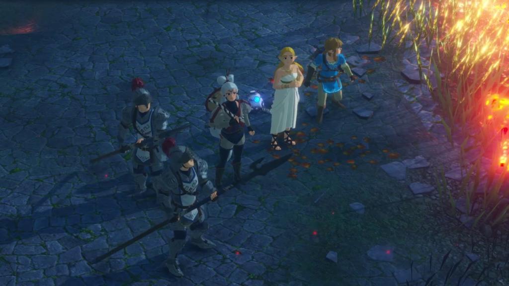 A demo gratuita de Hyrule Warriors: Age of Calamity já pode ser baixada. (Imagem: Reprodução)