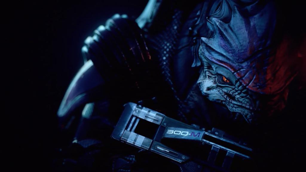 Novos modelos e melhorias visuais fazem parte de Mass Effect Legendary Edition. (Imagem: Divulgação)