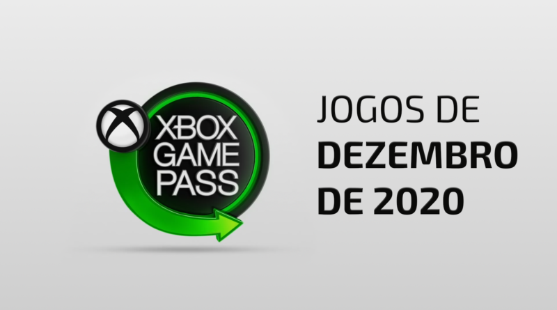 Xbox Game Pass DEZ 2020 Game Pass