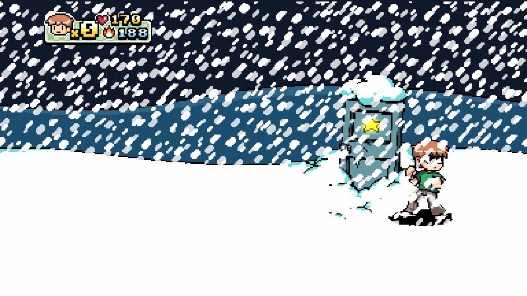 A música e os visuais de Scott Pilgrim vs. the World: The Game - Complete Edition são fantásticos. (Imagem: Reprodução/Switch)