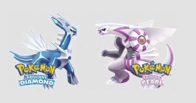 Pokémon Brilliant Diamond e Pokémon Shining Pearl recontarão a jornada da quarta geração com os lendários Dialga e Palkia. (Imagem: Reprodução)